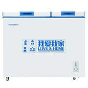 奥马 BCD-161 161升 一级能效 卧式 双温冷柜