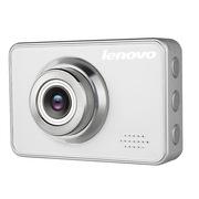 联想 行车记录仪 全高清1080P摄像 MU50白色 140度广角