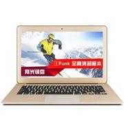 iFUNK 影刃 13.3英寸超极本(i7-4550U 8G 512G SSD 背光键盘 1080P HD5000)玫瑰金