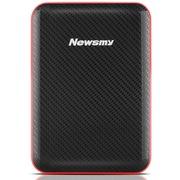 纽曼 吉云 160GB 液压平衡滚轴系统 防震 先进硅氧盘片 安全 稳定 快速 2.5英寸 超薄移动硬盘 黑红