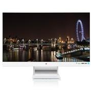 优派 VX2370S-LED-W 23英寸AH-IPS窄边框 宽屏LED背光液晶显示器(白色)