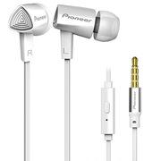 先锋  SE-CL31S-W 入耳式线控通话手机耳机 白色