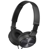 索尼 MDR-ZX310 头戴式立体声耳机 监听耳机 黑色产品图片主图