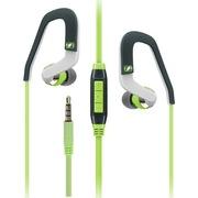 森海塞尔  OCX686i Sports 入耳耳挂式运动耳机 苹果版 带来完整而丰富的音质 绿色