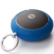 漫步者 M100 迷你型蓝牙音箱 三防户外音箱 便携插卡音响 蓝色