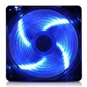 爱国者 黑暗骑士X7天使之翼风扇蓝色(LED蓝光/12CM游戏机箱风扇)