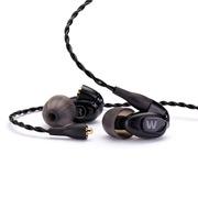 w20 民用级双单元动铁式 被动降噪hifi入耳式耳机 可通话可换个性彩壳 威士顿