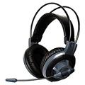 硕美科  G925 头戴式电脑耳麦 电竞游戏耳机  带线控  灰色
