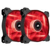 海盗船 美商(US)AF120双包 LED静音版高风量 机箱风扇 (LED红光/12CM)
