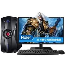 海尔 轰天雷X9-NX5台式电脑(i5-4460 8G 1TB GTX950 2G独显 键鼠  23.6英寸)游戏电脑产品图片主图