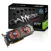 影驰 GTX950GAMER 1165MHz(Boost 1355MHz)/6700MHz 2G/128B D5 PCI-E显卡