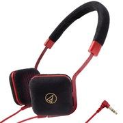 铁三角 ATH-UN1 BK 超轻便携头戴式耳机 黑色