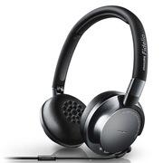 飞利浦 NC1/00 Fidelio旗舰系列 头戴封闭式降噪耳机 贴耳 小巧多向折叠设计 独立声室 隔音好