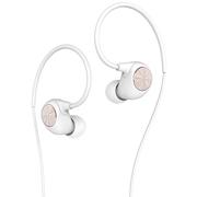 乐视 反戴式入耳耳机 手机线控耳机 白色