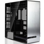 迎广 909 银色 全塔机箱 全铝/钢化玻璃/双面侧透(USB3.0 *3,USB3.1*1)