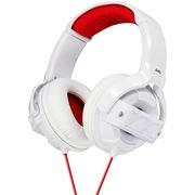 JVC HA-M55X-W 生猛酷型XX外观设计 出街重低音霸主 红白色头戴魔音耳机