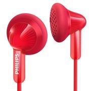 飞利浦 SHE3010RD 耳塞式耳机 便携出街 霓虹色彩系列 大品牌 音质好 重感低音 (炫红色)