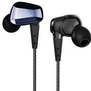 阿思翠 GX40 HIFI时尚重低音耳机入耳式 雅典黑色