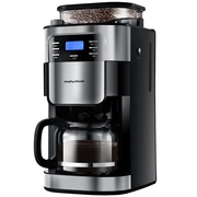 摩飞 MR1025 全自动磨豆家用商务美式咖啡机 豆粉两用
