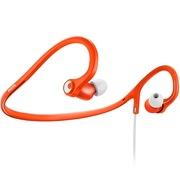 飞利浦 SHQ4300OR 后挂式运动耳机 大品牌 声音不错 防汗防溅水 轻盈舒适设计