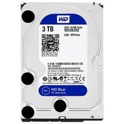 西部数据 蓝盘 3TB SATA6Gb/s 64M 台式机硬盘(30EZRZ)