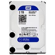 西部数据 蓝盘 2TB SATA6Gb/s 64M 台式机硬盘(20EZRZ)
