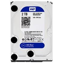 西部数据 蓝盘 2TB SATA6Gb/s 64M 台式机硬盘(20EZRZ)产品图片主图
