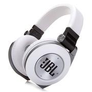 JBL E50BT 可折叠头戴式蓝牙耳机 支持音乐分享功能 白色