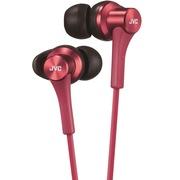 JVC HA-FX46-R 新一代入耳式同色线高磁力钕磁铁音乐耳机 VGP 2014 SUMMER获奖产品
