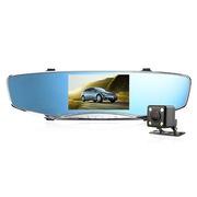 安尼泰科 TJ1 行车记录仪 5英寸1080P 前后双录 画中画