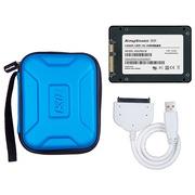 金胜 K2系列 128G SSD移动硬盘套装 (KSK200128)