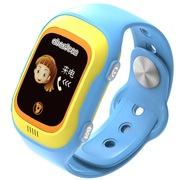 阿巴町 四代 KT04  儿童彩屏触摸版智能通话 定位 防水防丢多功能手表 蓝色
