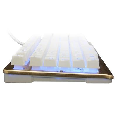 金刚狼K002土豪金 金属背光游戏键盘产品图片4