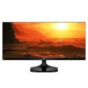 LG 25UM57 25英寸 LED背光 IPS 21:9超宽屏液晶显示器 黑色