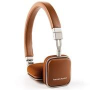 哈曼卡顿 SOHO 头戴式便携耳机 安卓版 褐色