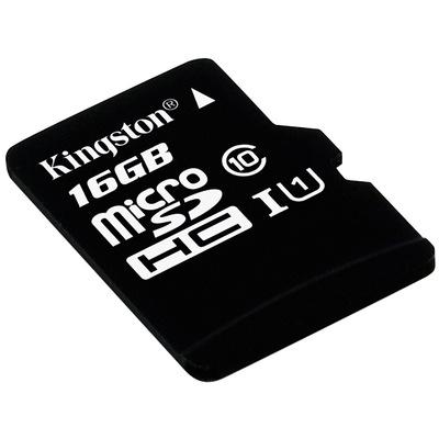 金士顿 读速80Mb/s 16GB UHS-I Class10 TF(Micro SD)高速存储卡产品图片3
