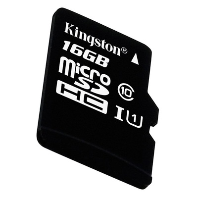金士顿 读速80Mb/s 16GB UHS-I Class10 TF(Micro SD)高速存储卡产品图片4