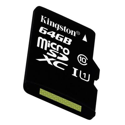 金士顿 读速80Mb/s 64GB UHS-I Class10 TF(Micro SD)高速存储卡产品图片4