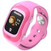 阿巴町 四代 KT04 儿童彩屏触摸版智能通话 定位 防水防丢多功能手表 粉色