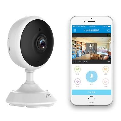 中兴 小兴看看mini C320 智能摄像头 网络摄像机 高清 WiFi连接 手机 远程监控 360°关怀 ip camera产品图片3