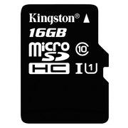 金士顿 读速80Mb/s 16GB UHS-I Class10 TF(Micro SD)高速存储卡