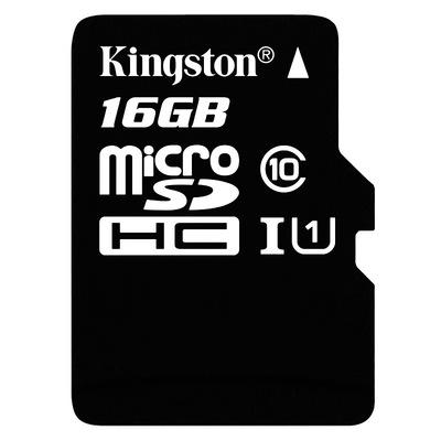 金士顿 读速80Mb/s 16GB UHS-I Class10 TF(Micro SD)高速存储卡产品图片1