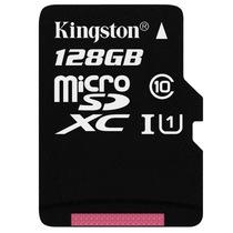 金士顿 读速80Mb/s 128GB UHS-I Class10 TF(Micro SD)高速存储卡产品图片主图