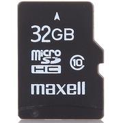 麦克赛尔 32G MicroSDHC(TF)存储卡(Class10)黑色