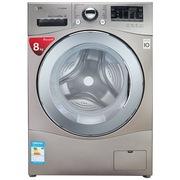 LG WD-H14477DS 8公斤 DD变频滚筒洗衣机 460MM超薄 韩国原装进口 蒸汽洗(碳晶银)