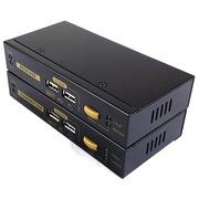 固网  HE-300M VGA 300米信号延长器 桌面式 自动切换 支持高清 台湾品质 自动调节色差功能