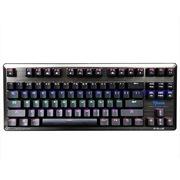 宜博 EKM727BRUS-IU K727 六色混彩机械键盘 87键 黑色   红轴