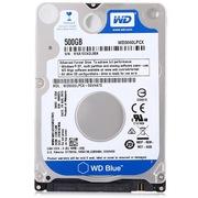 西部数据 蓝盘 500G 5400转16M SATA6Gb/s 笔记本硬盘(5000LPCX)