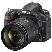 尼康 D750 单反双头套机 (AF-S 尼克尔 24-120mm f/4G ED VR镜头 + AF-S 50mm f/1.8G 镜头)