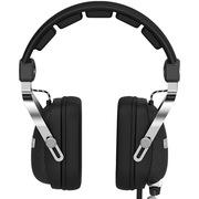 黑爵 AX300业游戏耳机 黑色 内置声卡 3D矢量头梁工艺 超强低音
